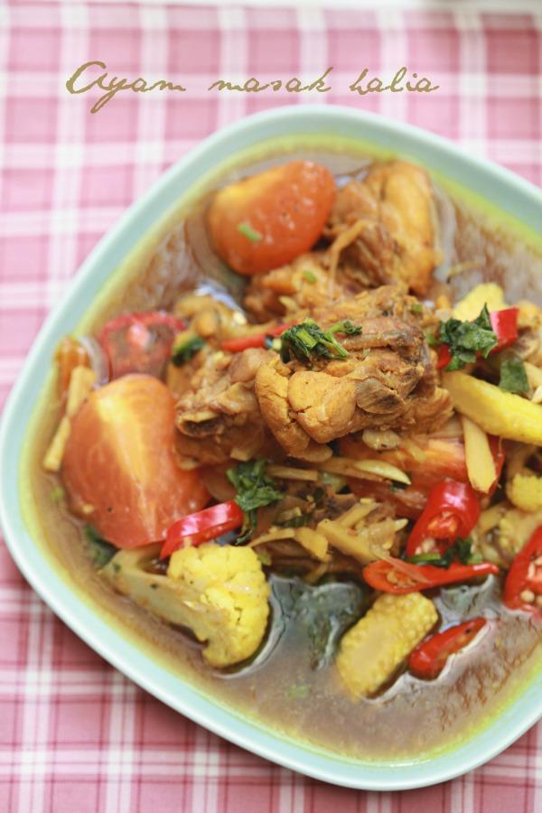 ayam masak halia mudah ringkas  sedap masam manis Resepi Sup Sayur Masam Manis Enak dan Mudah