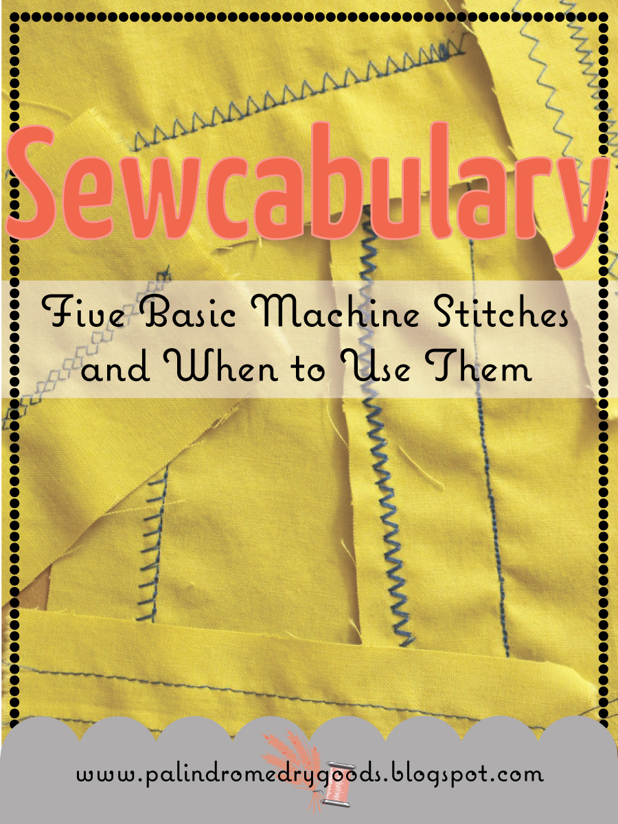 5 Basic But Timeless Makeup Techniques: Sewcabulary: Five Basic Machine Stitches And When To Use