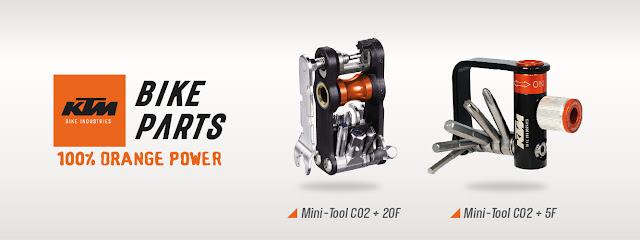 Micro-canhões de chaves KTM Bike Industries