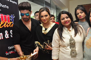 Bollywood Actress Sana Khan Launches Aakrithi Exibition  0286.JPG