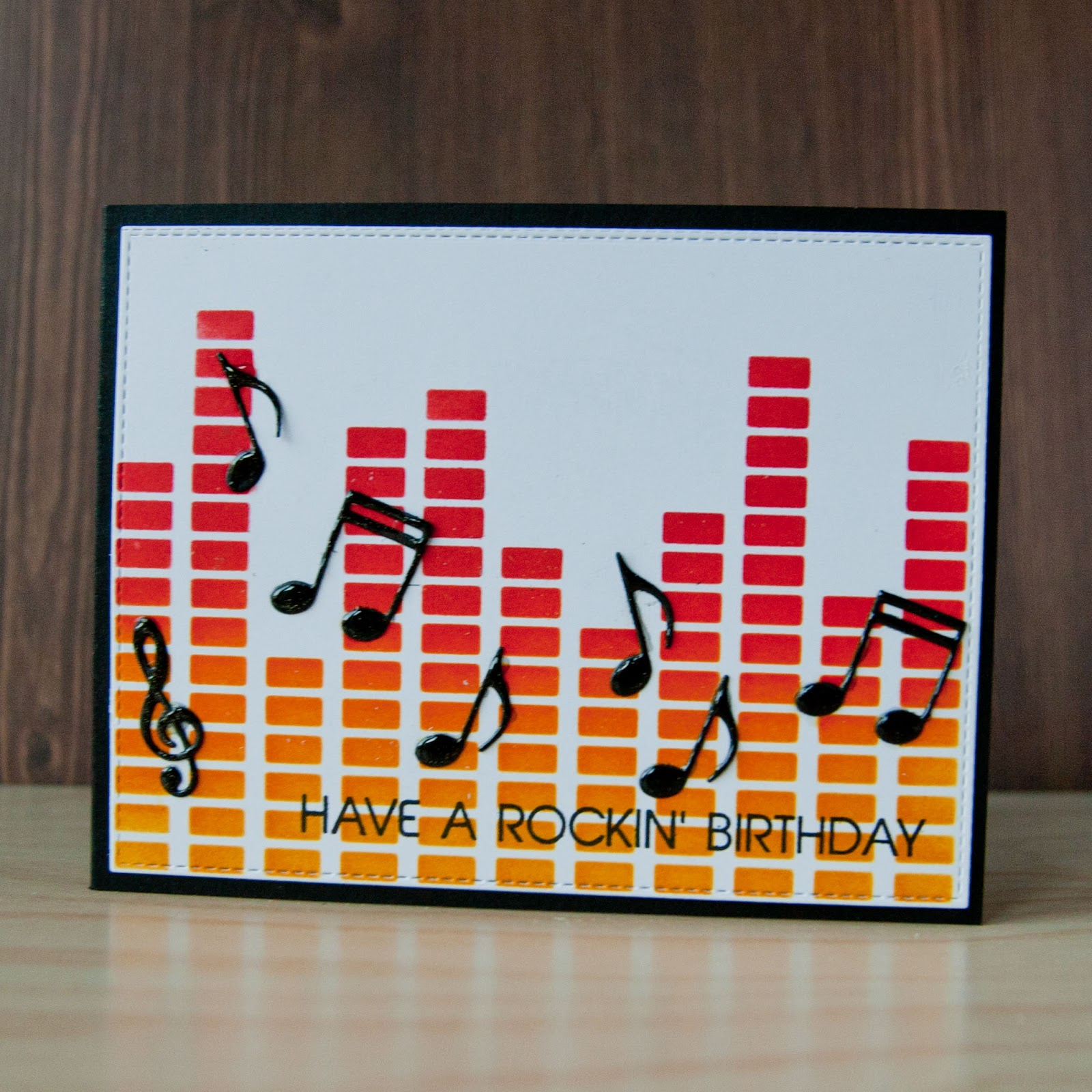 Music Card For Lovers Birthday My Life In Paper