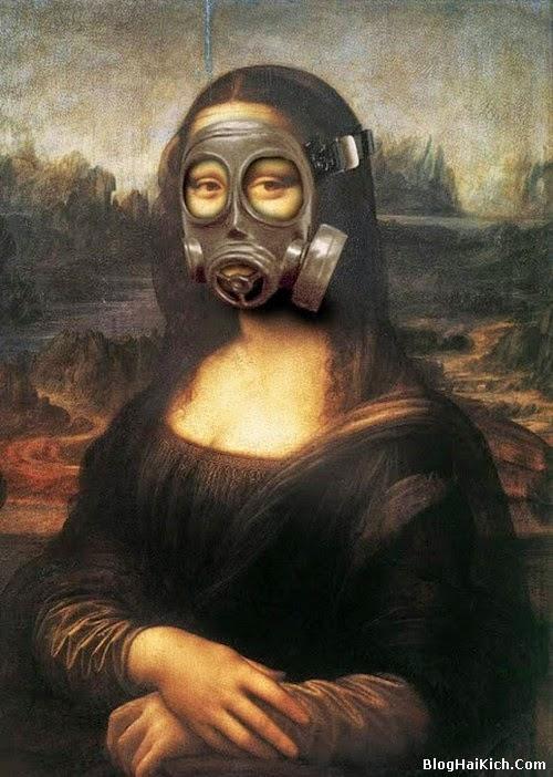 ảnh chế nàng Mona Lisa - Tranh 3