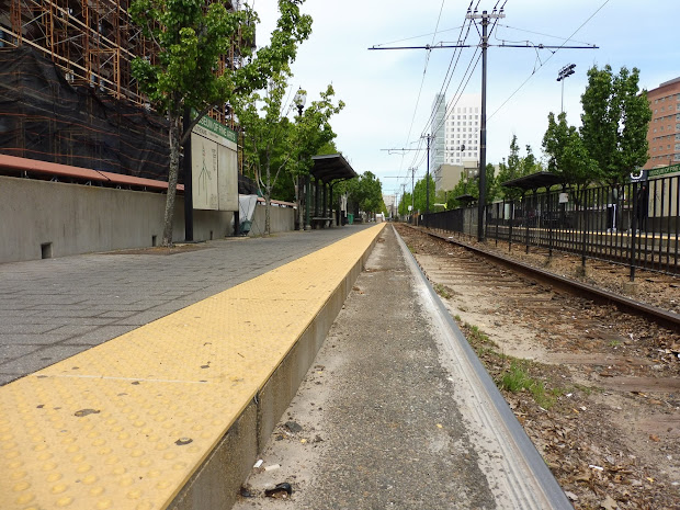 MBTA Train Handicap Ramp