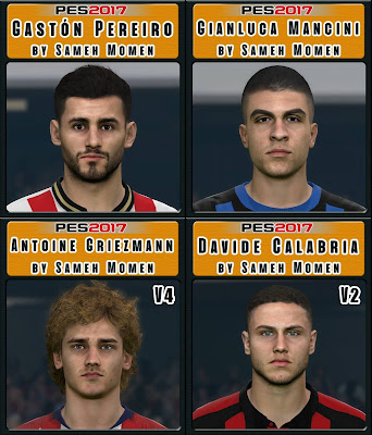 PES 2017 Facepack March 2019 by Sameh Momen