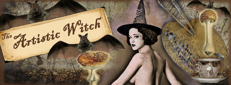 "My earlier witching works on ""The Artistic Witch"" Blog."