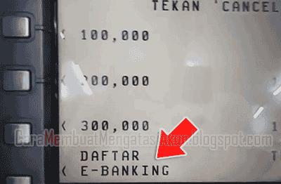 cara mendaftar mobile banking bca dari atm