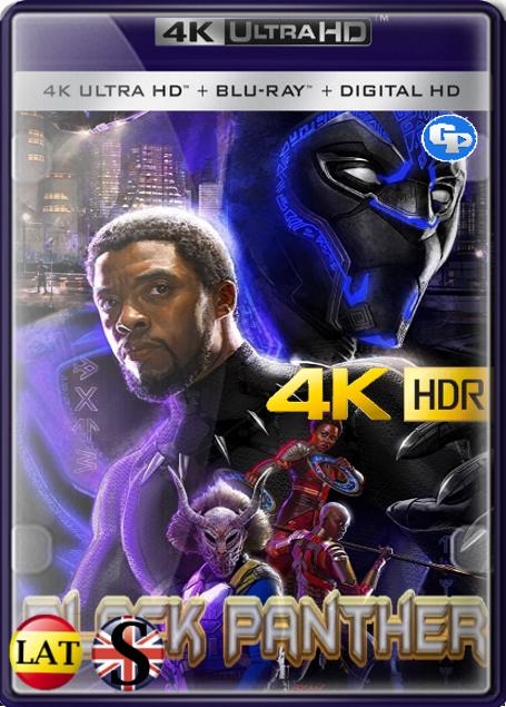 Pantera Negra (2018) 4K HDR LATINO/INGLES