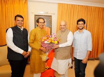 Why Amit Shah met Uddhav Thackeray?