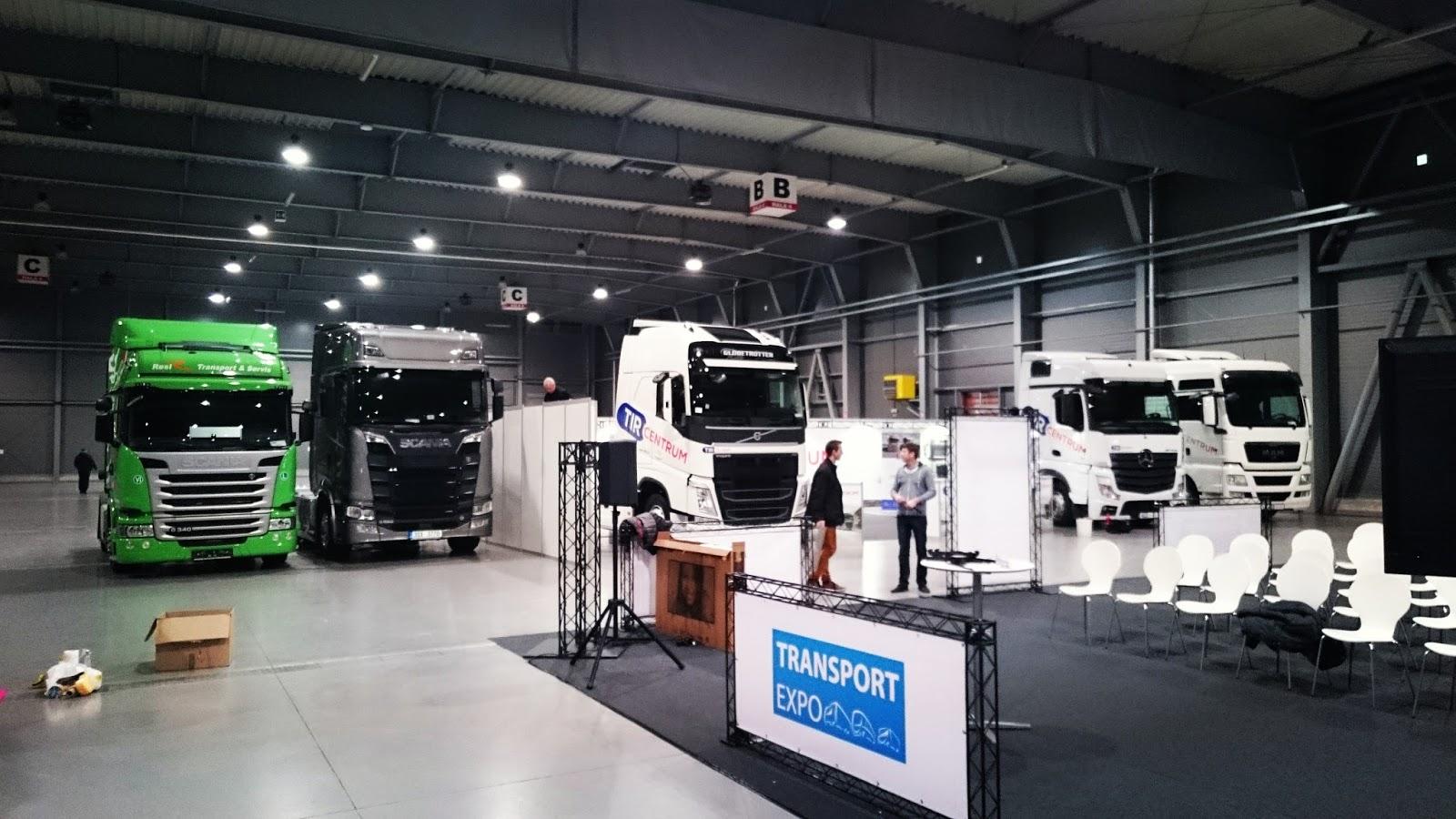 Сотрудники SCS Software посетили Transport Expo 2016