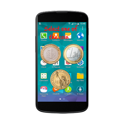 Aplikasi Sulap Android, Illusion Coin