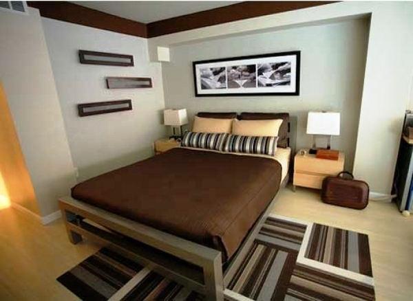 Contoh Foto Desain Kamar Tidur Minimalis Ukuran 3x4 Sederhana Modern