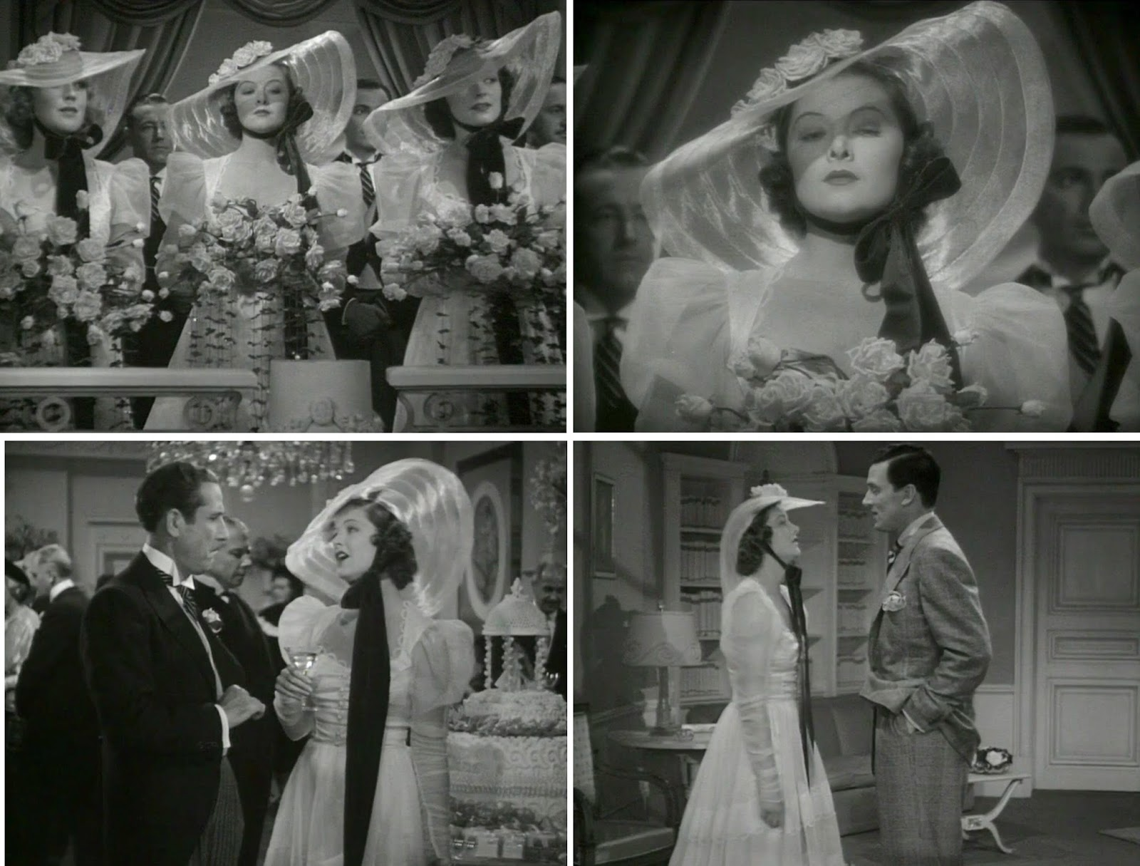 Phyllis loves classic movies cinema wedding gowns man proof 1938 however maybe roz has the right idea wear something so strange that it ensures everyones eyes are on you no matter how pretty the bridesmaids ombrellifo Gallery