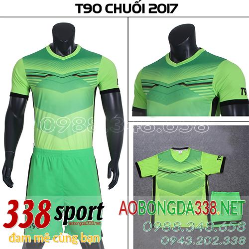 mẫu áo t90 pc màu xanh chuối 2018