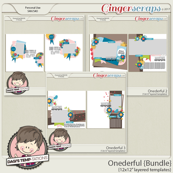Dagi's Temp-tations Onederful Bundle