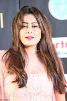 Nidhi Subbaiah Glamorous Pics in Transparent Peachy Gown at IIFA Utsavam Awards 003.JPG
