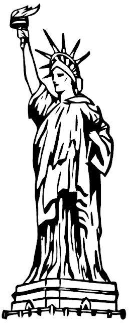 Ephemeraphilia: Free Vector Art: Statue of Liberty