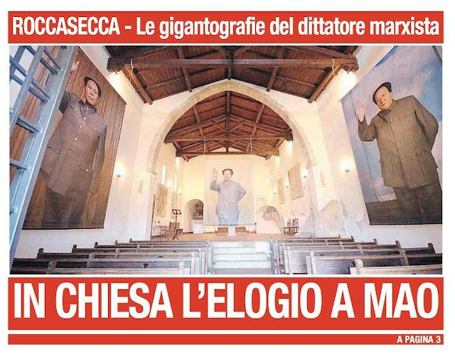 Notícia de primeira página no jornal local 'La Provincia'