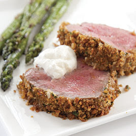 Serve Beef Tenderloin with Horseradish Cream