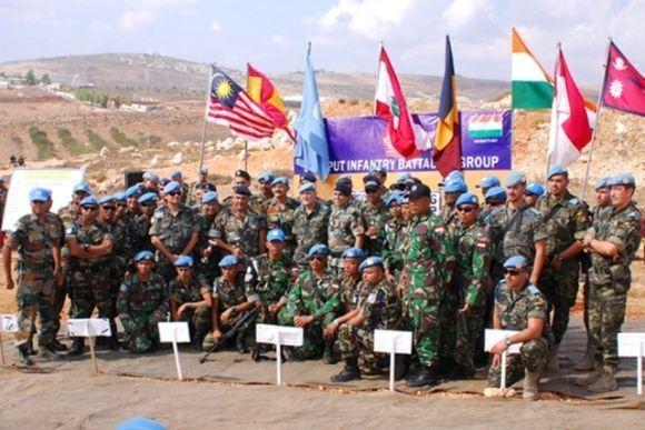 TNI Juara kompetisi menembak Lebanon