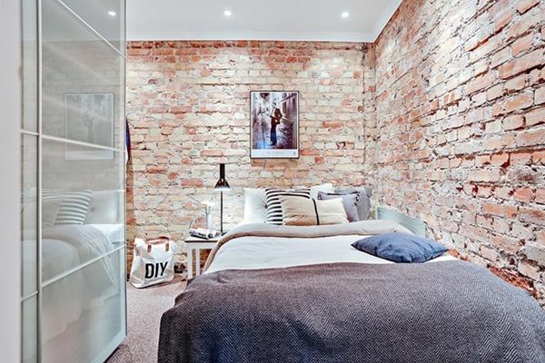 quarto pequeno apartamento