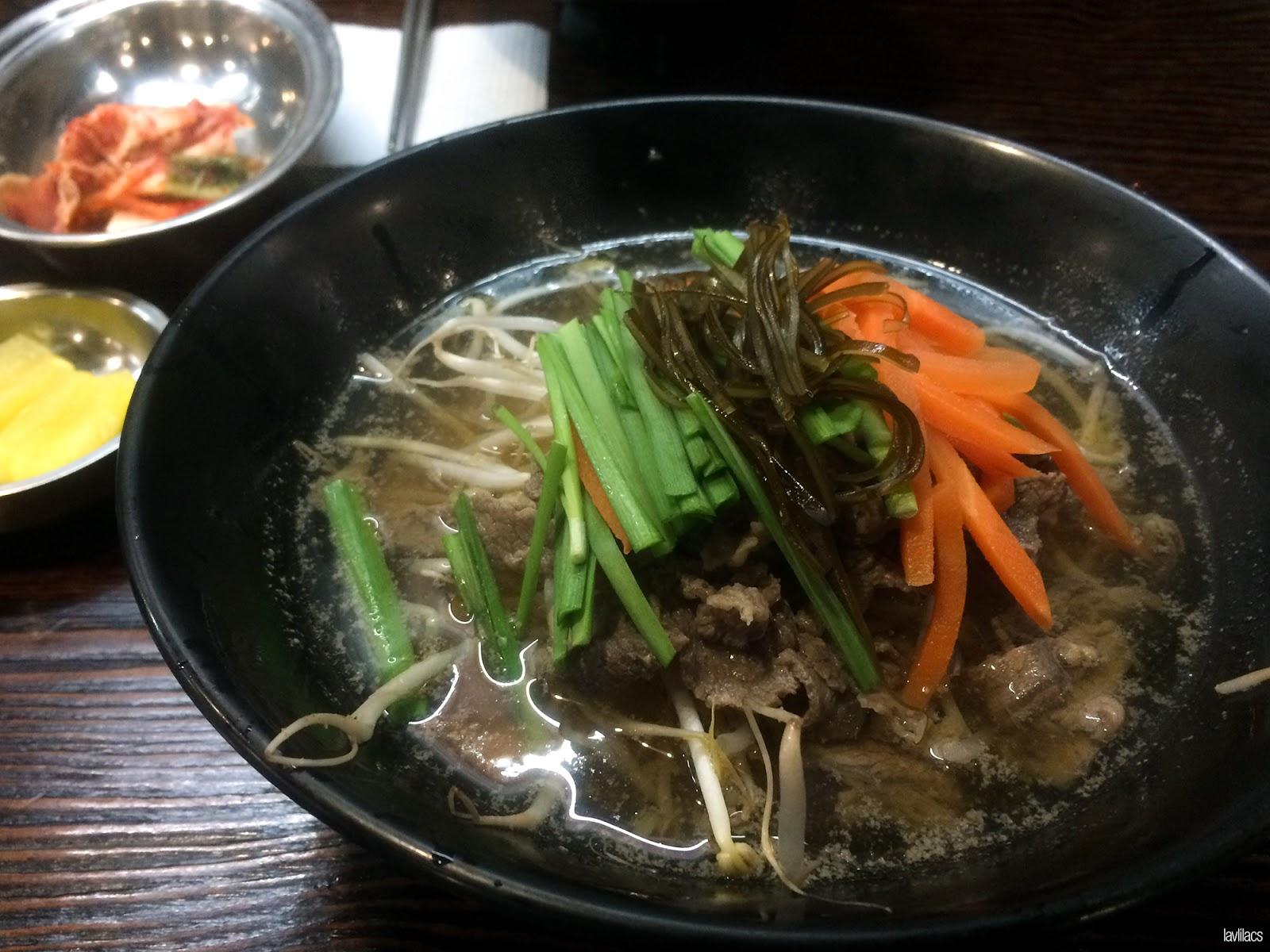 Seoul, Korea - Summer Study Abroad 2014 - Edae Noodle Kimbob Shabu Noodles