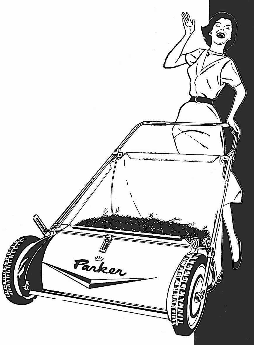Parker lawn mower