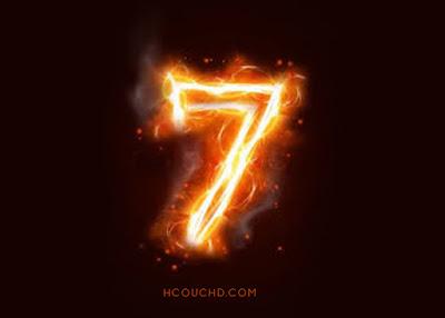 رقم 7
