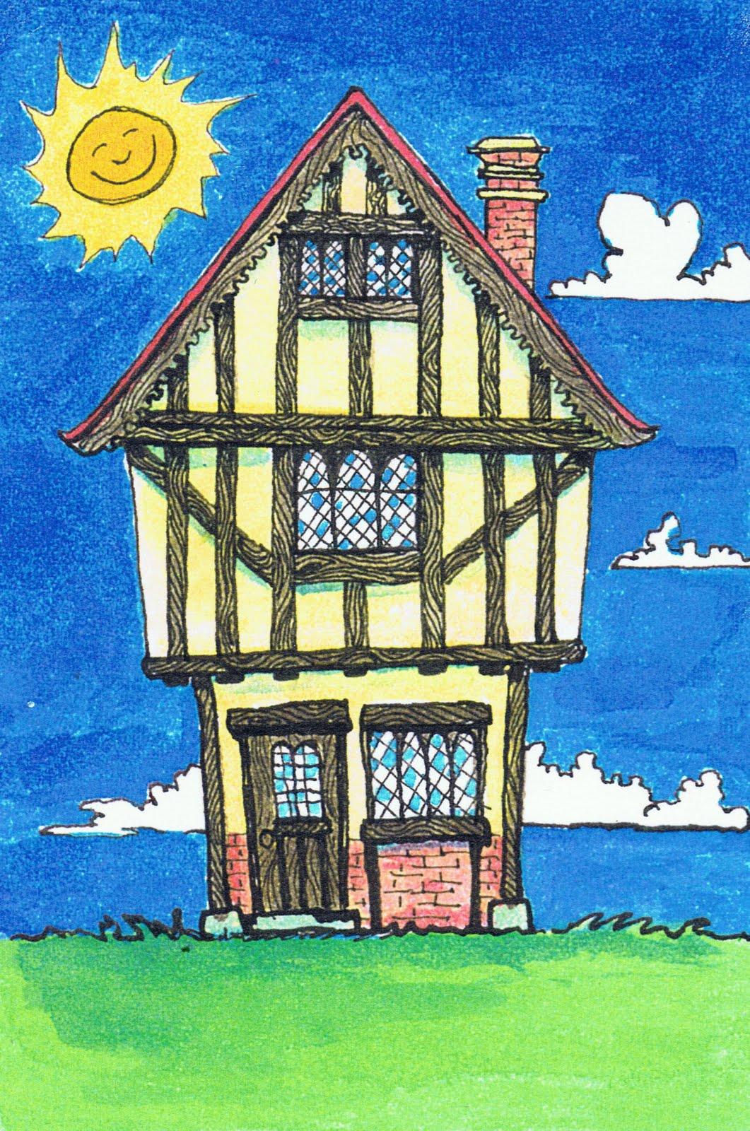 21 Tudor House Drawing Ideas That Make An Impact