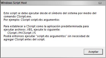 WSH_modo Cscript para ejcutar vbs