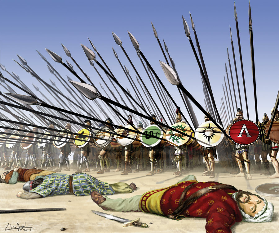 What gave the greeks the athenians the spartans