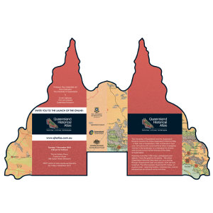 The launch of the online Queensland Historical Atlas.