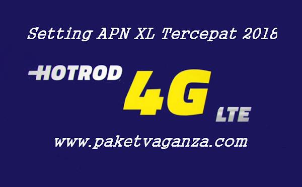 Cara Setting APN XL 4G Tercepat Android Modem Terbaru 2018