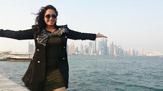 Bhojpuri Actress Rani Chatterjee Hot Photo 2 in Black Dress
