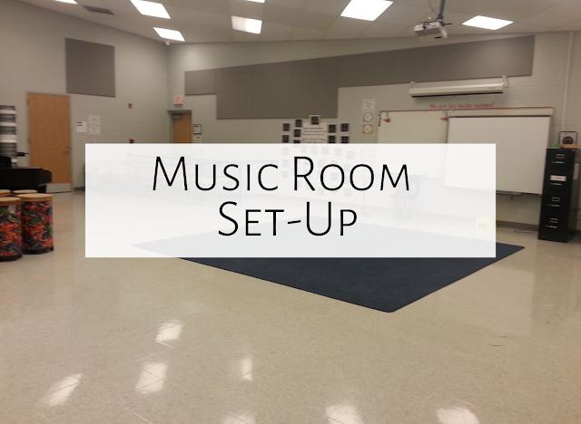 My music room set-up