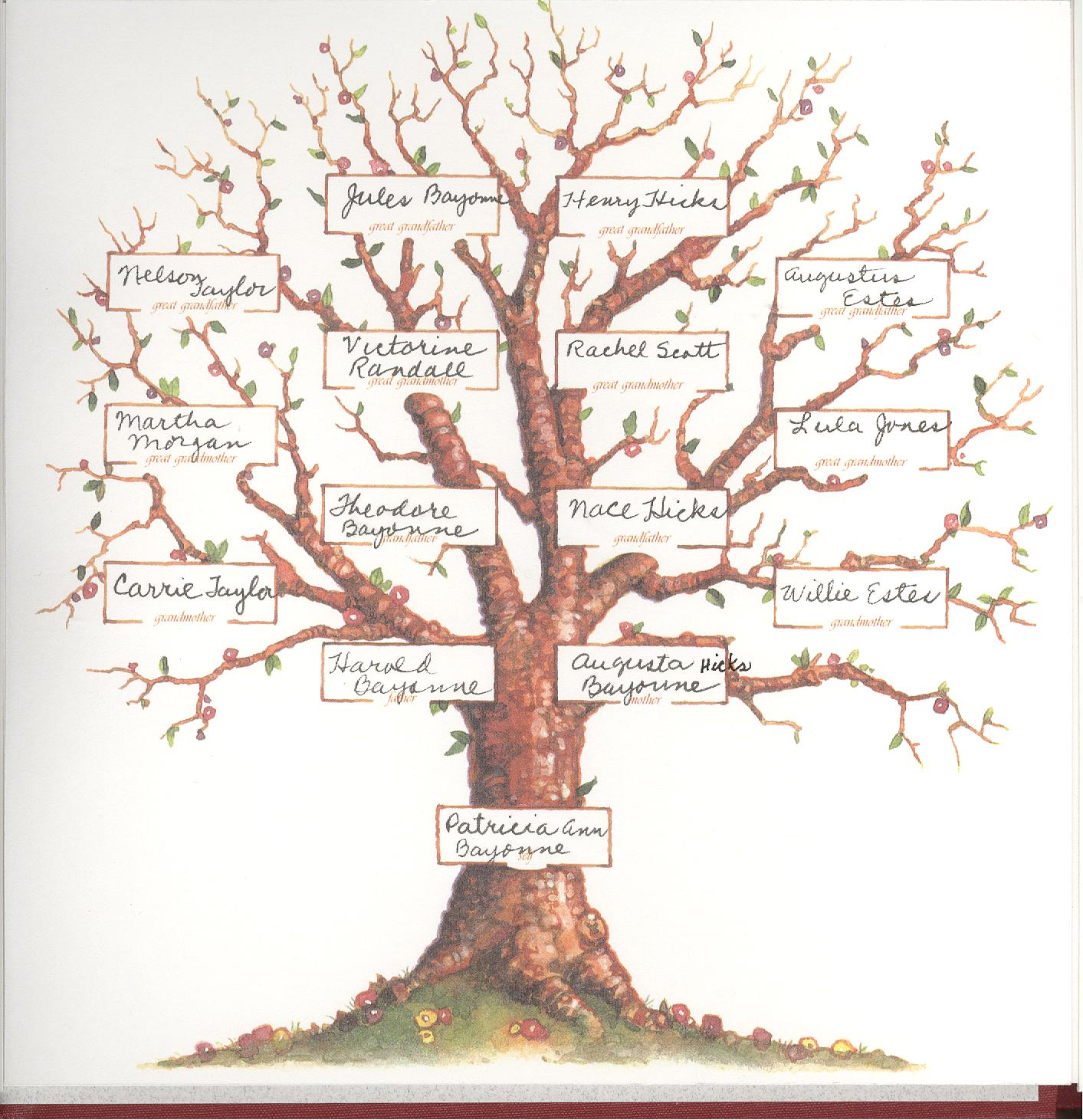 This is a graphic of Transformative Pictures of Family Trees
