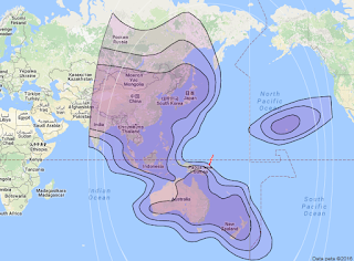 Satelit JCsat 2A 136.0°E CBand
