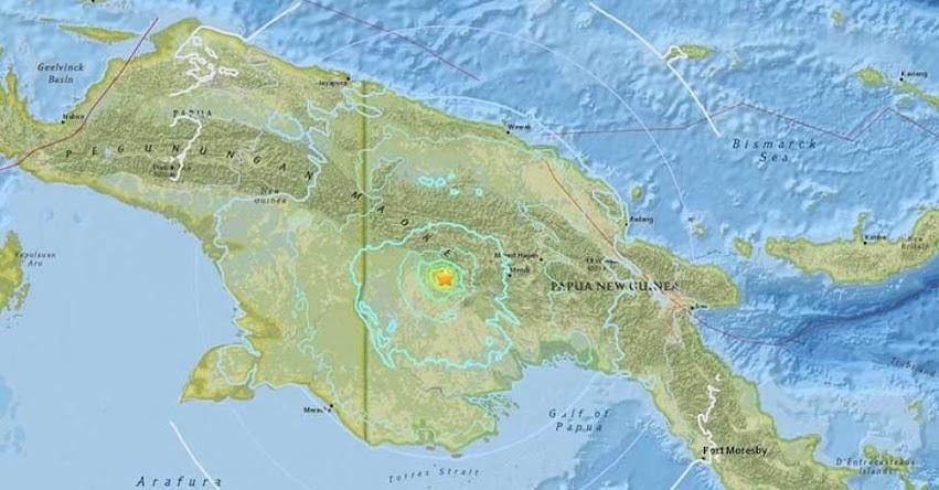 TERREMOTO EN PAPÚA NUEVA GUINEA de Magnitud 6.0 - Alerta de Tsunami (Hoy Martes 27 Febrero 2017) Sismo Temblor EPICENTRO - Porgera - USGS