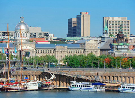 Cruising on the River from the Old Port