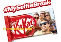 Logo Concorso ''MySelfieBreak'': vinci 4.000 KitKat Original personalizzati con la tua foto