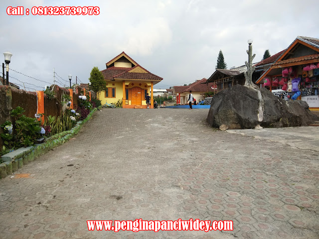 Booking villa di area wisata kawah putih dari sumenep