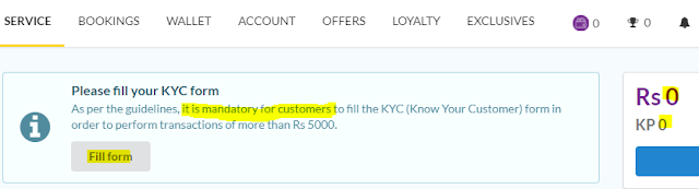 Create and Verify Khalti account-- notify to fill KYC