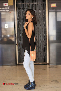 Shreya Vyas Latest Pictures in Ripped Jeans Kevvu Kabaddi Tournament Press Meet ~ Celebs Next