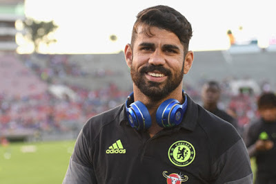 Tianjin Quanjian club keen on signing Diego Costa from Chelsea