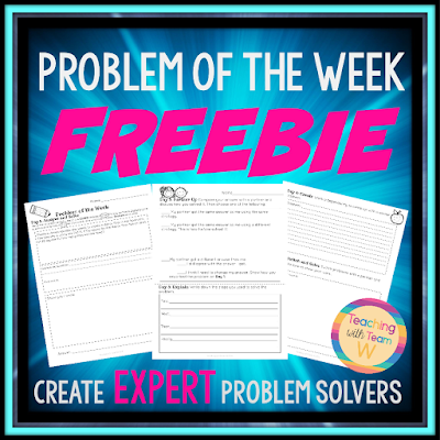 Use this daily in your classroom to build and enforce critical math problem solving skills and strategies.  A Common Core aligned math problem solving product that takes students step by step through the problem solving process.