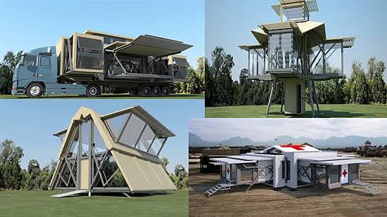 Casa 'ultra-móvel' mostra como pode ser sua moradia no futuro - Img 1