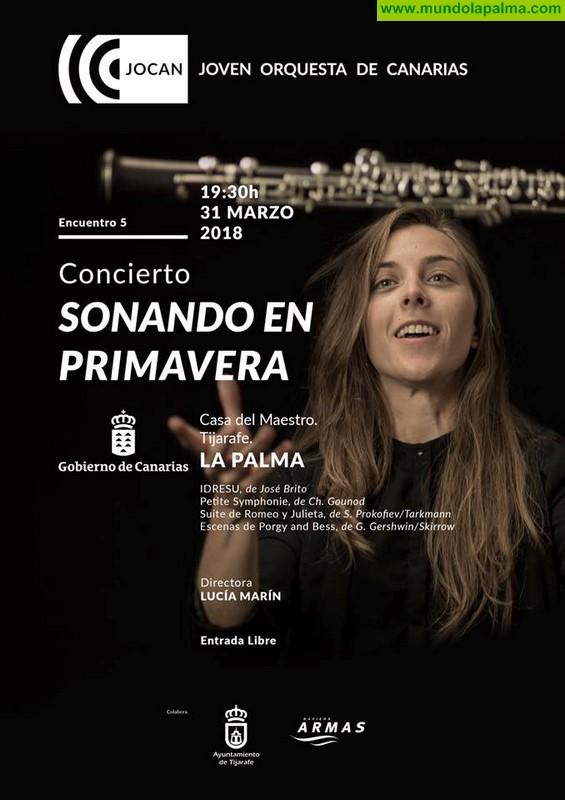 Concierto de La Joven Orquesta de Canarias en Tijarafe