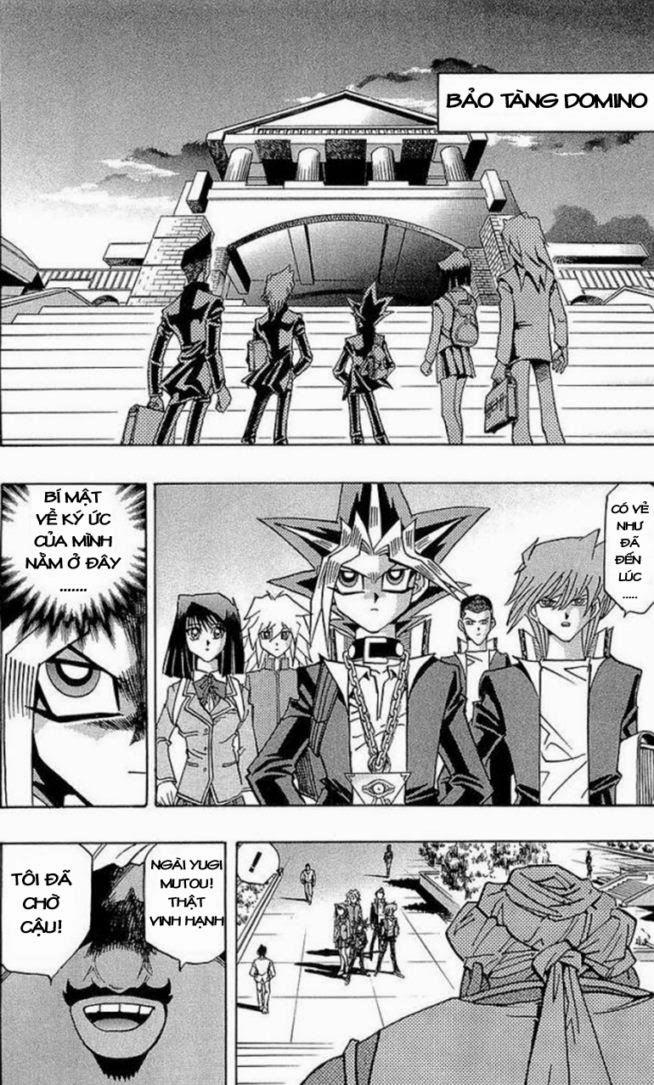 YUGI-OH! chap 281 - hiện vật bí ẩn trang 18
