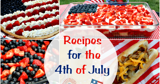 4th of July Favorites & Cookout Recipes: