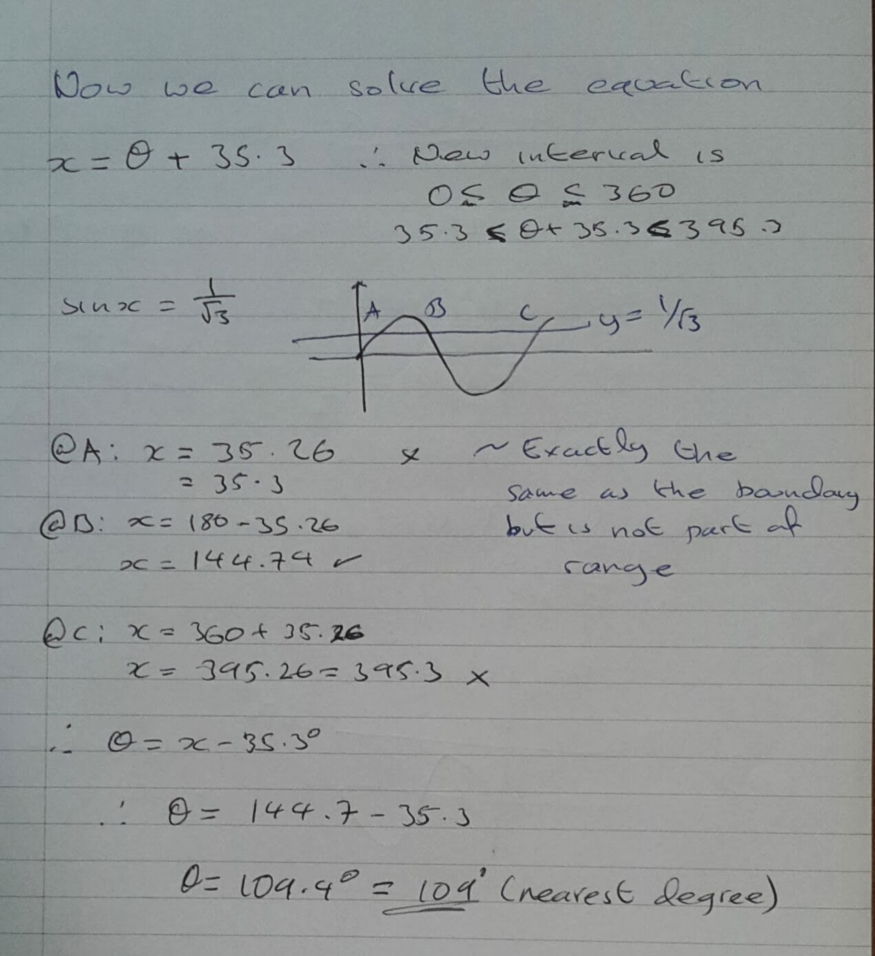 A Level Maths Notes A2 Trigonometry Ii Acos X Bsin X Form