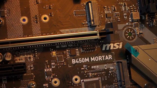 msi b450m mortar motherboard review